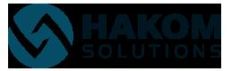 HAKOM Sticky Logo