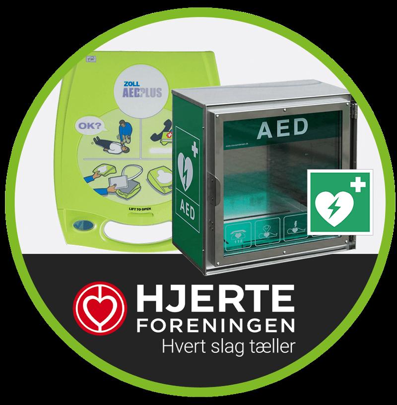 hjertestarterpakke Hakom Hedehusene
